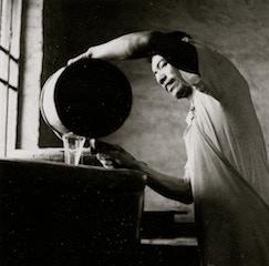 "Photo #4 - Chinese vinegar maker (taken by Ann Tompkins) - 12""x12"""