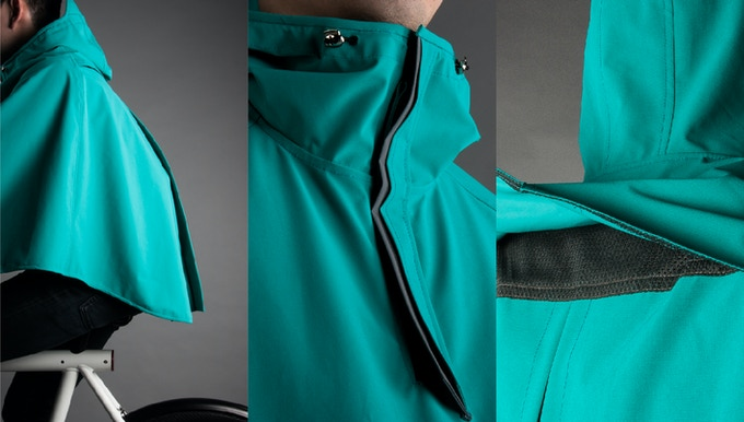 Boncho The Bike Poncho By Vanmoof Kickstarter