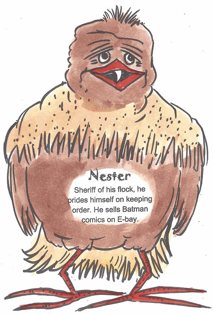 ChickenFightz Bird Fighter Nestor