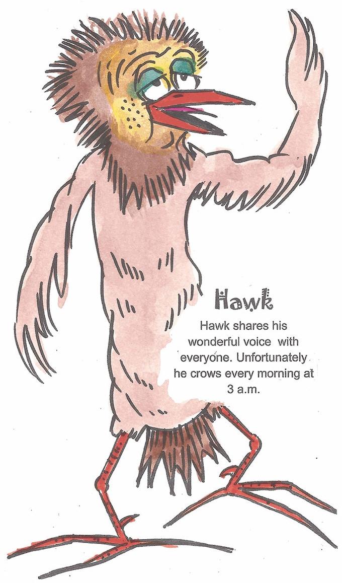 ChickenFightz Bird Fighter Hawk