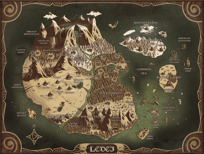 Universe of Ledei. This map also will host Last Hand's Quest Campaign