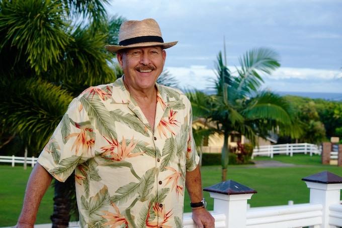 Wil at home on Kauai