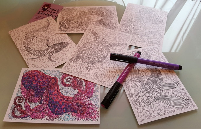 everyone loves colouring-in...