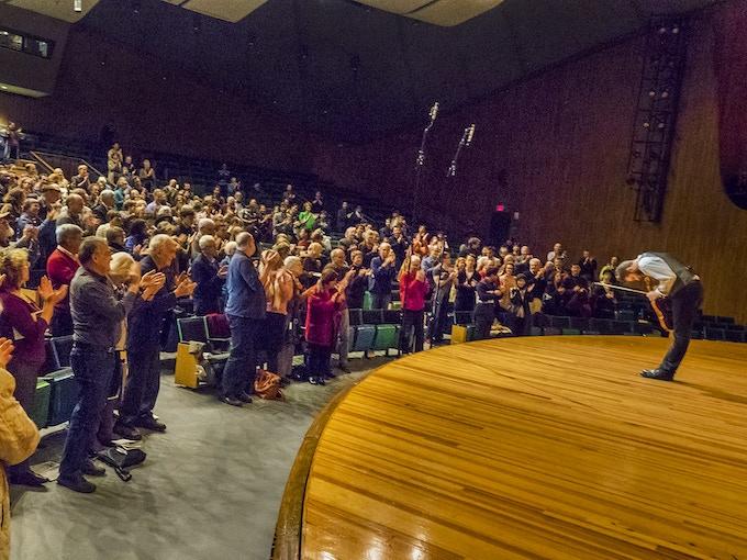 Final bow at MIT's Kresge Auditorium. Photo: L.Barry Hetherington