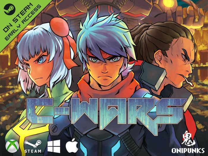 What happens when Cyberpunk apocalypse roguelike meets RTS in pixel art? C-Wars!