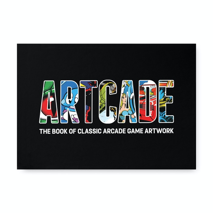 A big book full of spectacular artwork from the greatest games machines ever to grace the floor of your favourite arcade! Order now from www.artcade.co.uk
