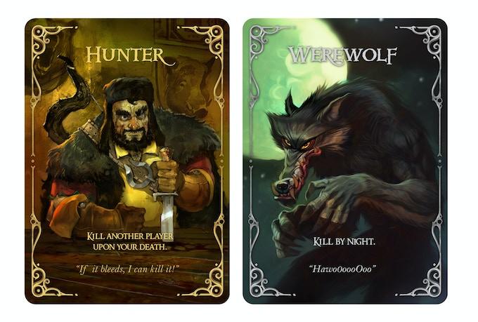 Wolfed Werewolf Card Game By Nikolay Nedev Kickstarter