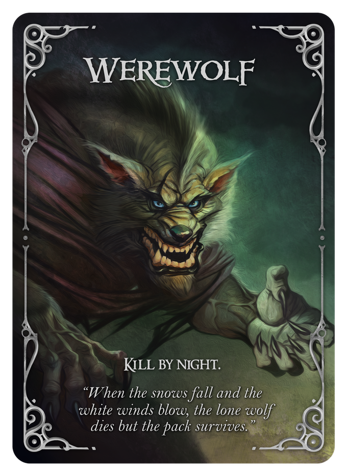 Wolfed Werewolf Card Game By Nikolay Nedev Kickstarter