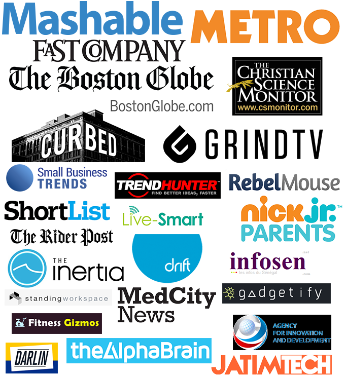 Featured by 30 Media Outlets
