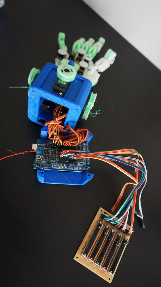 Partially Dissembled to Reveal the Arduino Mega