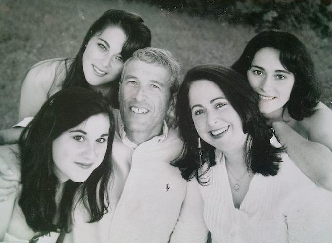 The Tepler family circa 2007
