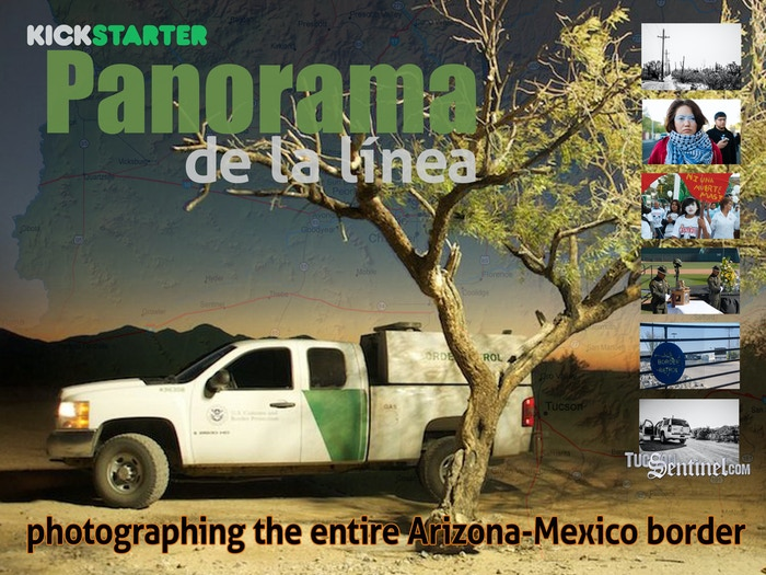 An unprecedented effort to capture a photograph from every mile of the Arizona-Mexico border — all 373.5 of them.