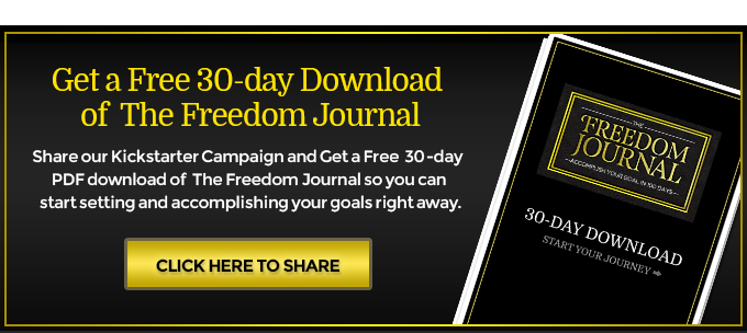 The freedom journal accomplish your 1 goal in 100 days by john lee share the love fandeluxe Gallery