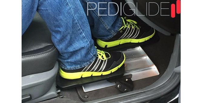 PediGlide In The Car
