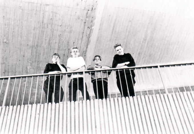 The original lineup back in 1989