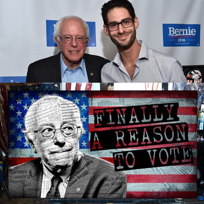 Greg and Bernie