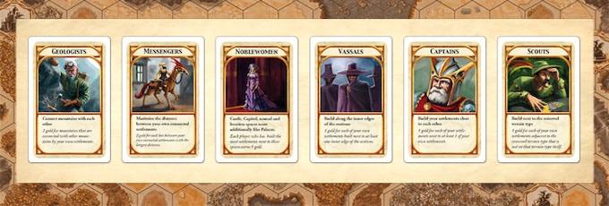 New Kingdom Builder cards