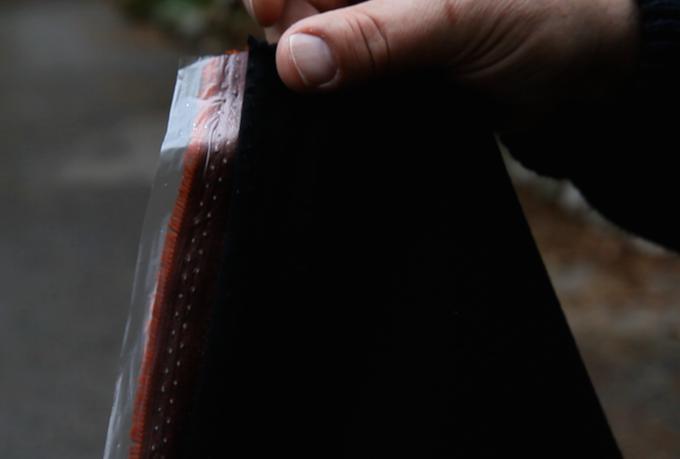 Waterproof & Windproof Membrane - bonded between layers