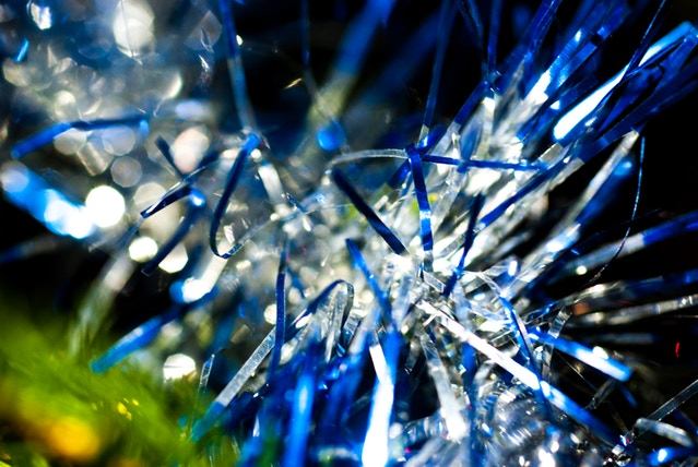 Tinsel captured using Adaptalux