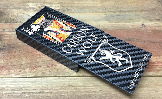 Slide Top Carbon Box