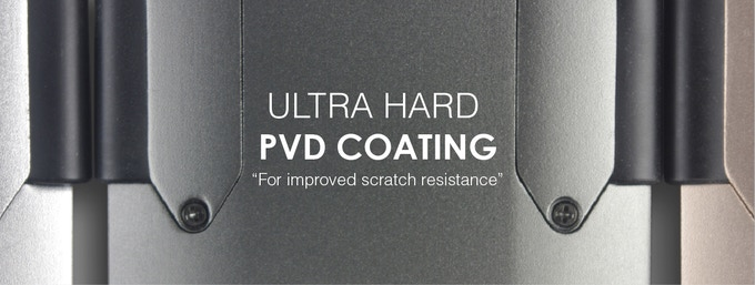 Our ultra hard PVD coating