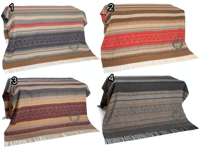 Alpaca - Wool Throw / Blanket - Smart Alpaca