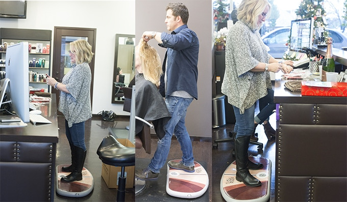 Wurf Board at a Hair Salon