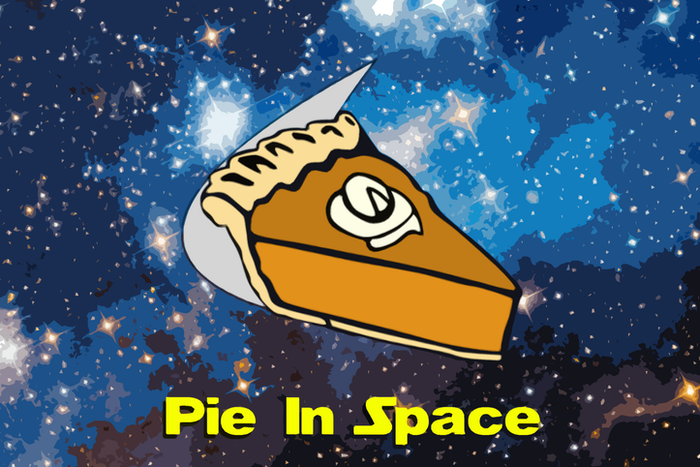 A high school freshman has sent pie into space! Visit pieinspace.com to see some awesome pics and videos!