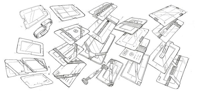 Sketching designs