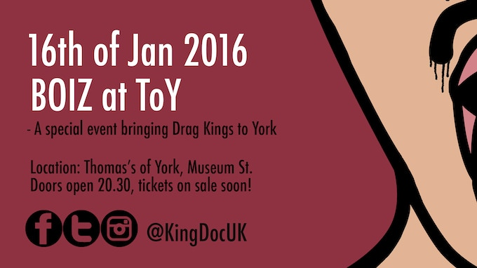 Information about our drag event in York
