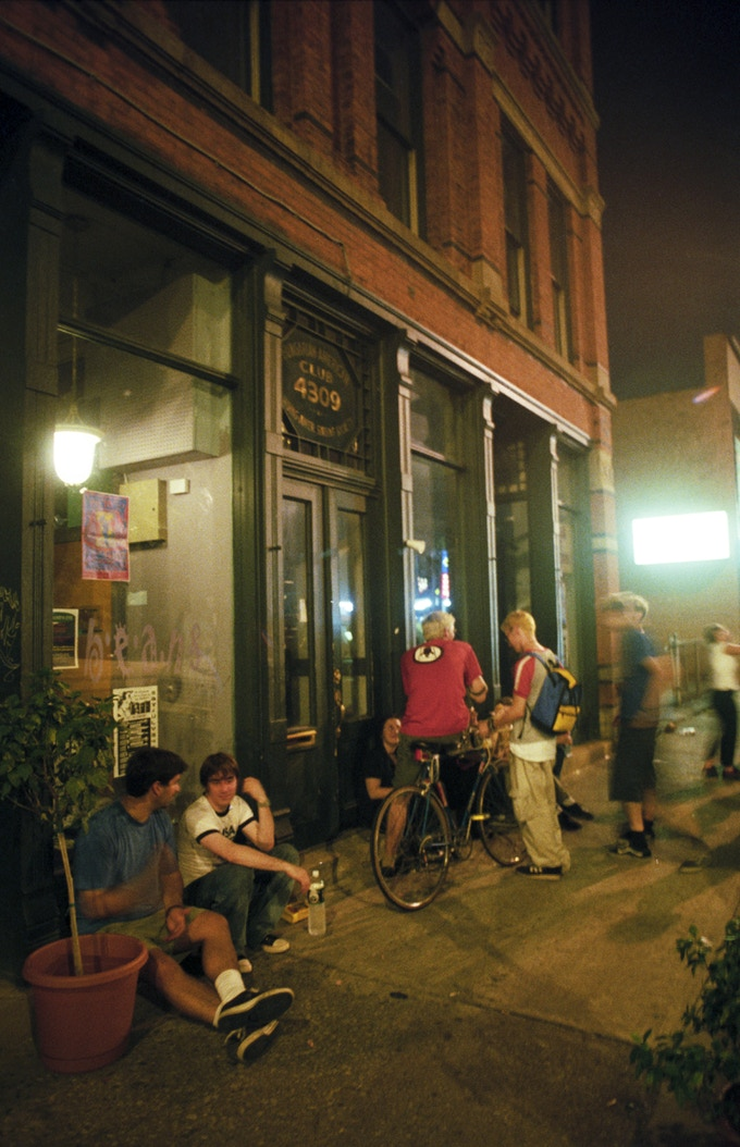 1997: Speak in Tongues, the Cleveland DIY music venue where Joe sold zines out of milk crates at the bar