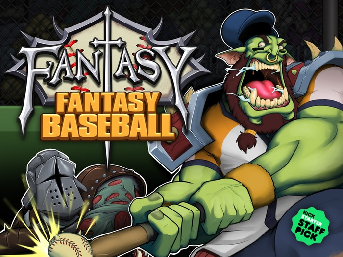 You are the Wizard manager of a team of fantasy creatures battling through a season of fantasy baseball.