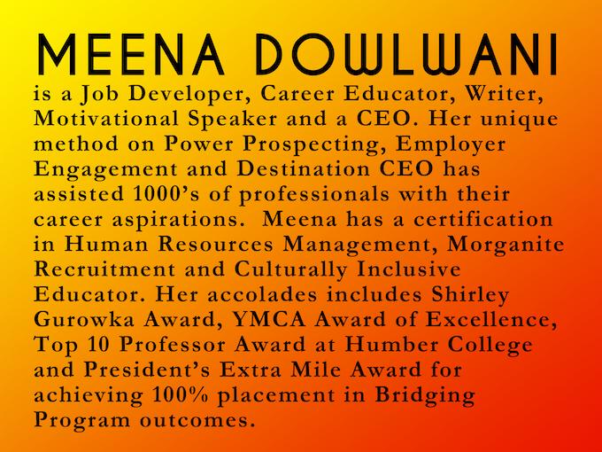 Bio of Meena Dowlwani