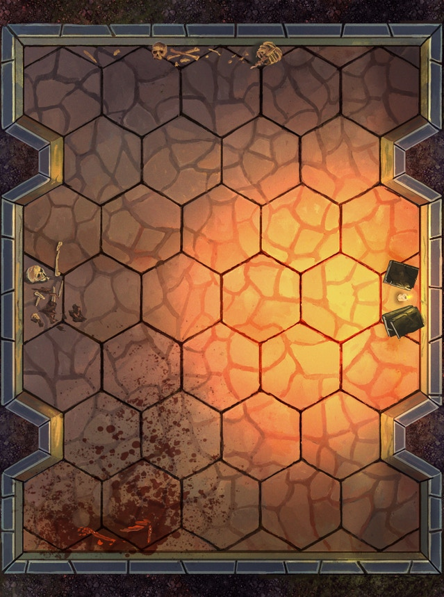 Pictures Of Finalised Floor Tiles Ongoing Gloomhaven