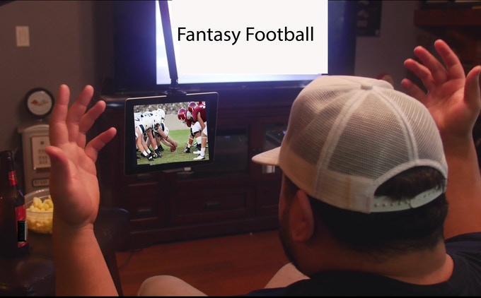 The perfect companion for every sports fan out there.