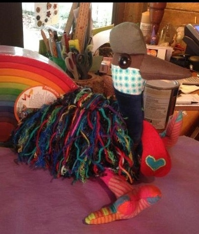 Hand crafted Cassowary