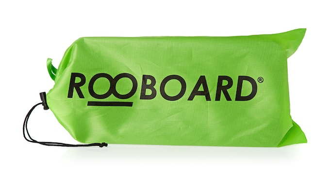 Your Rooboard comes in a handy carry bag