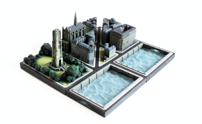 Overview of all the Paris buildings in this Kickstarter