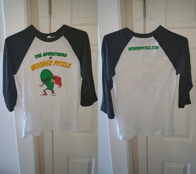 Final Test of the Wonder Pickle T-Shirts!