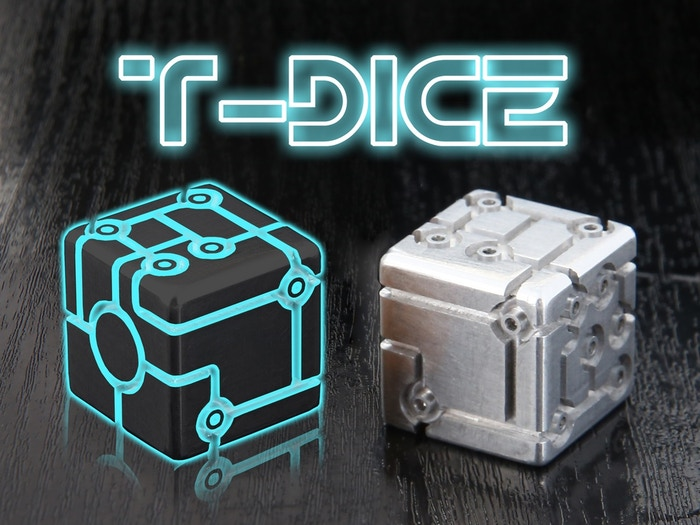 TRON DICE  the complete design of cyber universe dice. Tabletop games