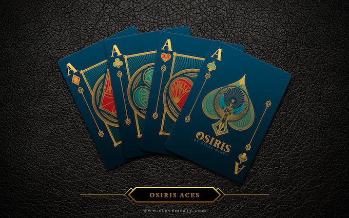 Osiris Deck Aces with Special Ace of Spades