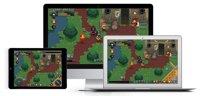 If we get enough funding, we hope to release the game on both tablets and phones on iOS and Android.