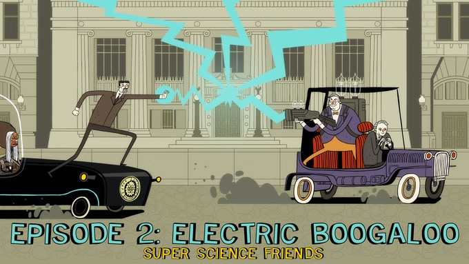 Thomas Edison is stealing the world's supply of electricity, and only his one-time employee Nikola Tesla knows how to stop him!