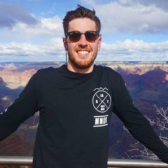 Bones at the Grand Canyon.