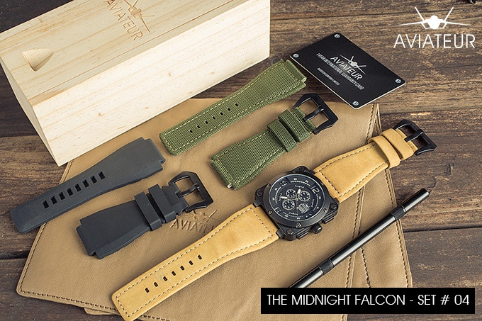 The Midnight Falcon - Set # 4