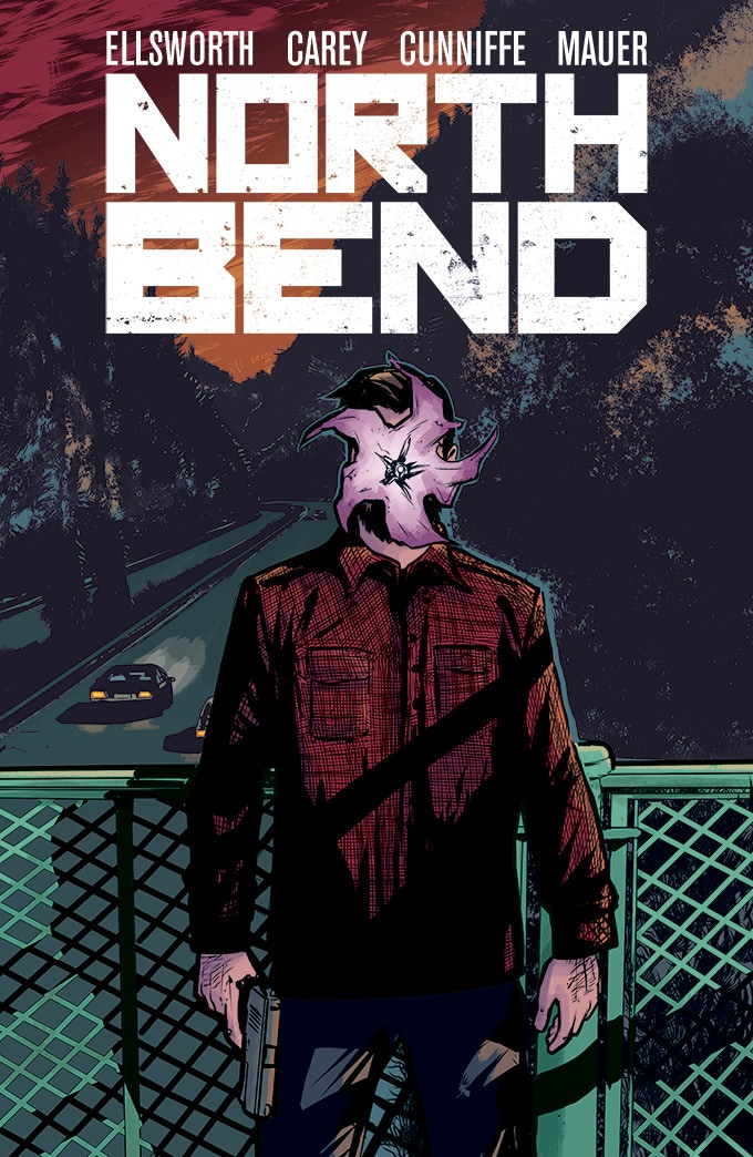 Standard cover for North Bend #1 by Robert Carey (a few more design elements left to add)