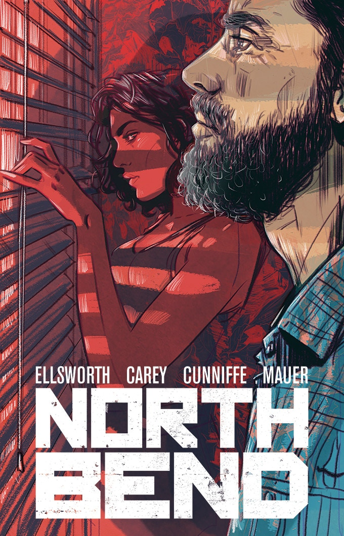 Variant cover for North Bend #1 by Tula Lotay (a few more design elements left to add)