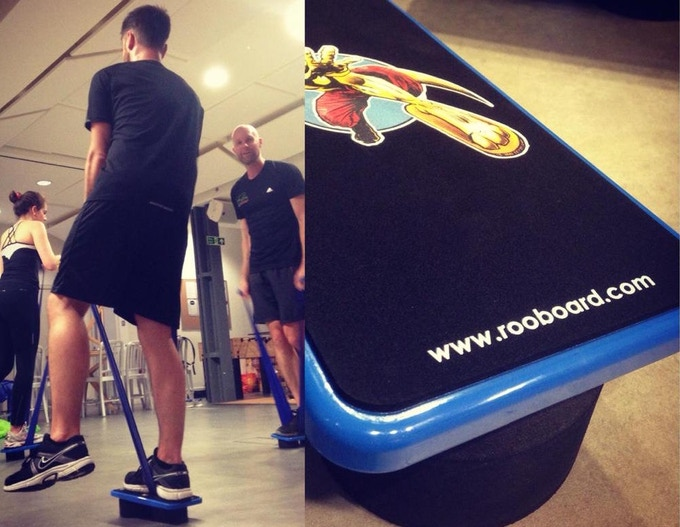 Private Surfgym® tester session in a London company during November 2015