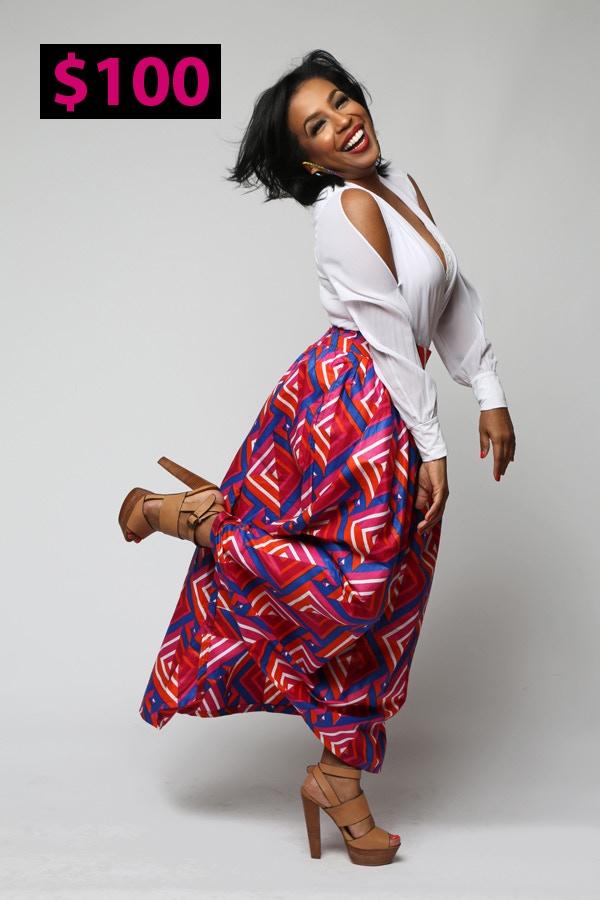 The Regal Maxi Skirt