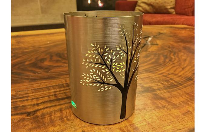 Circle Metal Candle Holder